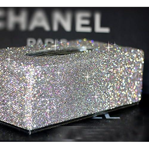 Glitter Bathroom Accessories Amazon Com
