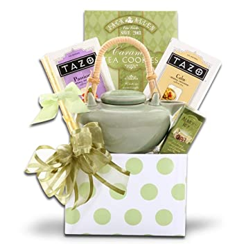 Image Unavailable. Image not available for. Color: Tazo Tea Gift Basket