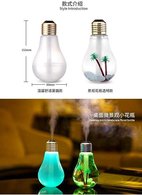 Morza Lámpara LED humidificador Fragancia de Aceite de Incienso ...