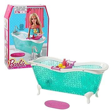 barbie - mobili arredamento bagno - vasca da bagno con accessori ... - Vasca Da Bagno Arredo