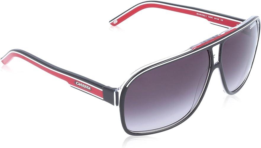 Carrera Grand Prix 2 9O T4O Gafas de sol, Negro (Bkcr Bkwhred/Dark ...