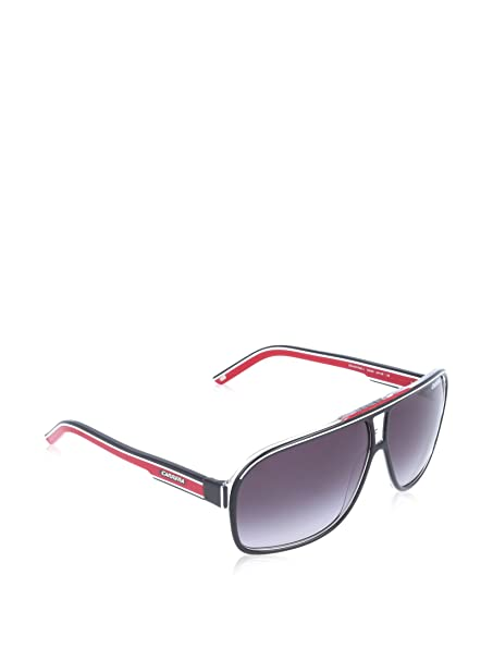 Carrera Grand Prix 2 9O T4O, Gafas de Sol Unisex Adulto, Negro (Bkcr Bkwhred/Dark Grey SF), 64: Amazon.es: Ropa y accesorios