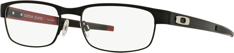 90f9722fde4 Amazon.com  Oakley Carbon Plate OX5079-0153 Eyeglasses Matte Black ...