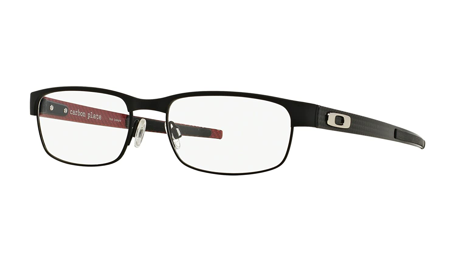 04cd477bf01 Amazon.com  Oakley Carbon Plate OX5079-0153 Eyeglasses Matte Black Clear  Demo 53 18  Oakley  Clothing