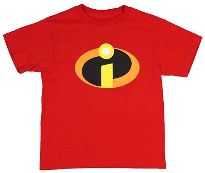 Disney Pixar Boys Incredibles 2 Family Icon T-Shirt