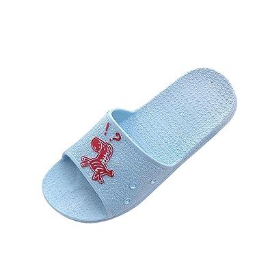 Fashion Summer Animal Print Sandals Anti-Slip Flat Bath Slippers Female de Mujer Indoor Wide Comfortable