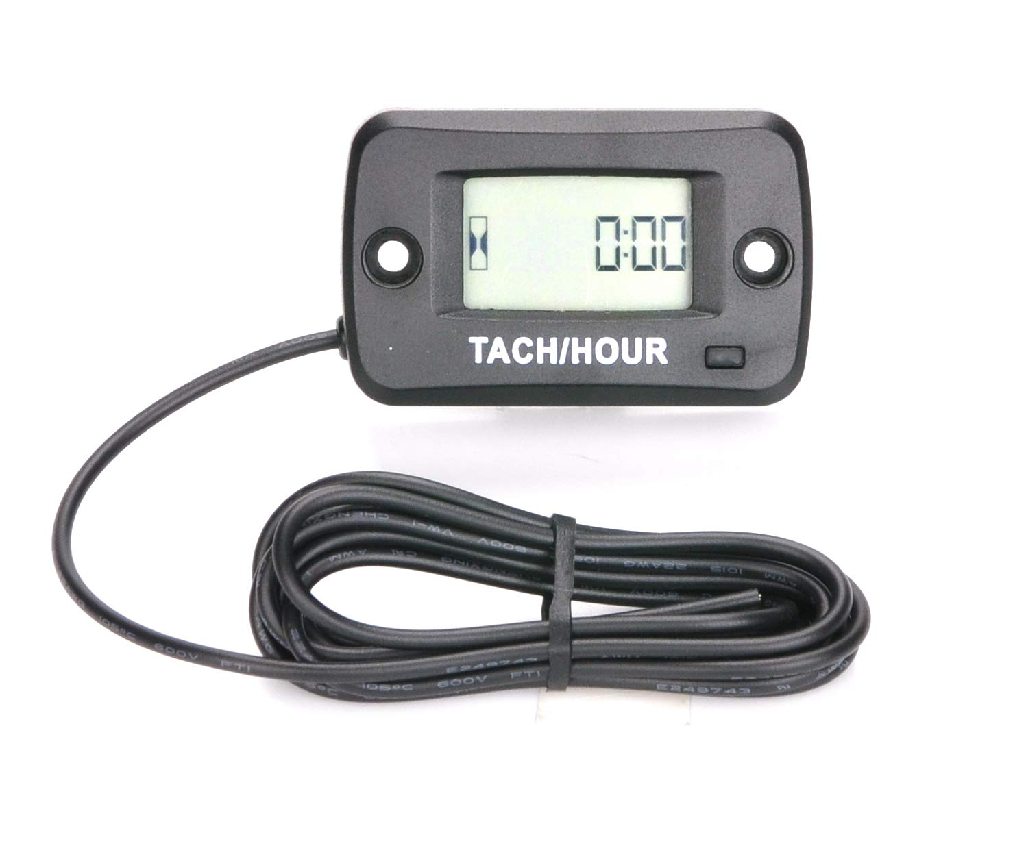Digital LCD Waterproof gasoline engine hour meter Tachometer Maintenance meter for Paramotors,Chainsaws,Generators,Mowesr,Model Boats