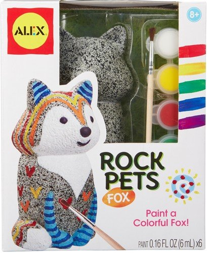 ALEX Toys Craft Rock Pets Fox Craft