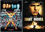 Any Given Sunday & All The Right Moves DVD Football Tom Cruise Movie AL Pacino Bundle Double Feature Movie Set