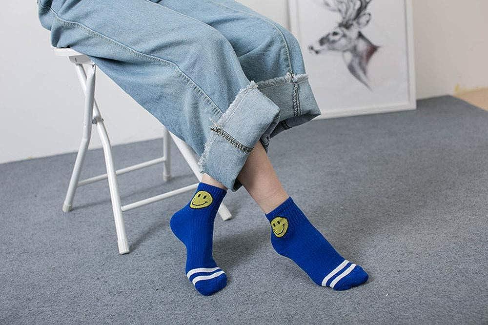 Bcfuda-Calzini Unisex Calzini Caldo Freddo Casuale Moda Cotone Sorriso Sorridente Banda Caviglia