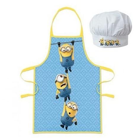 Cattivissimo me Minions Little chef grembiule e cappello da cuoco ... 07f70458df5c