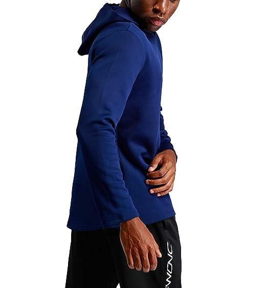 e08812737175c Amazon | Change スポーツプルオーバー スウェットパーカー ランニングウェア トレーニングパーカー [メンズ] | フィットネス・トレーニング  スウェット・パーカー ...