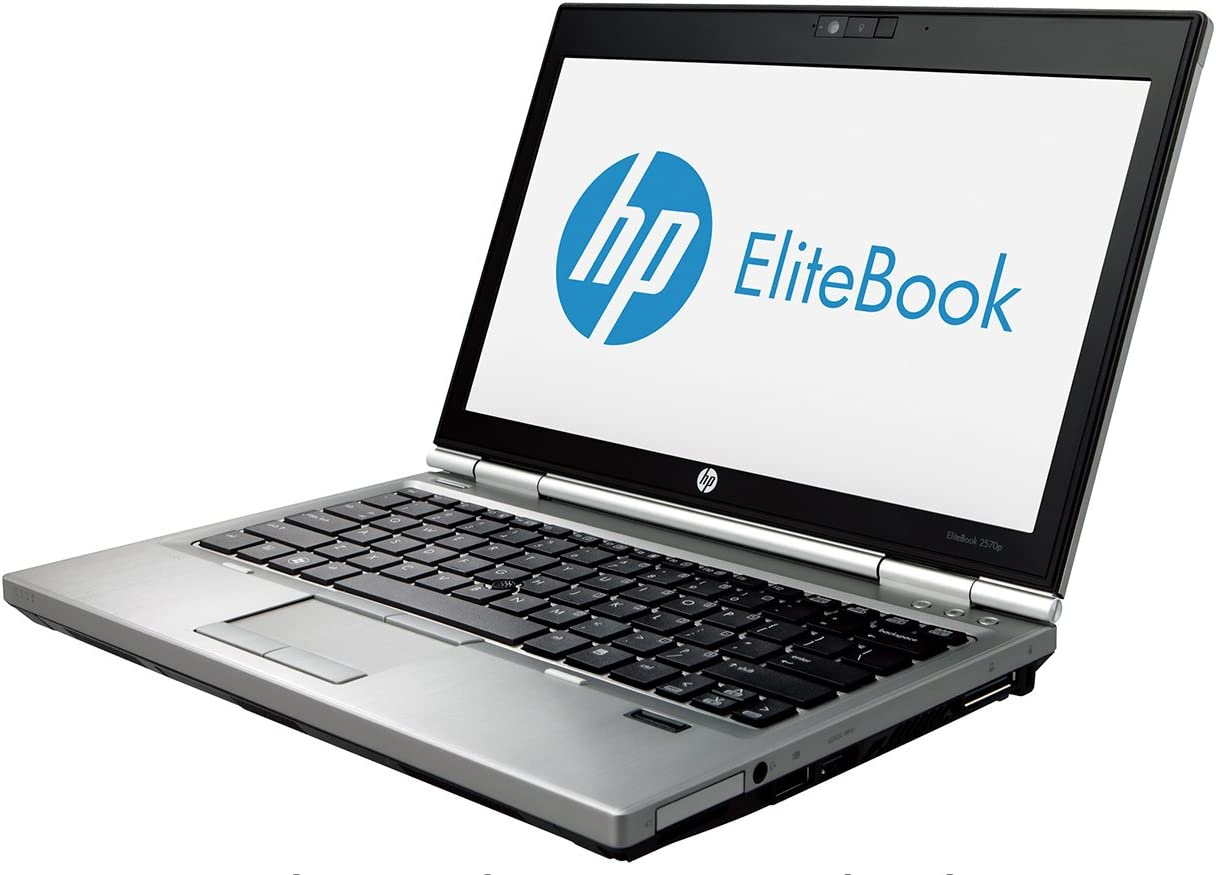 HP EliteBook 2570p 12.5 Intel i5-3340M 2.7GHz 500GB 8GB DVDRW