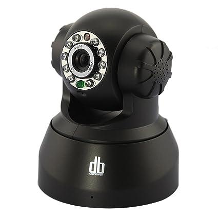 DBPOWER VA033K (10 LED Infrarrojo, 12 Metros Visión Nocturna) Wifi Inalámbrica Cámara de Vigilancia de Seguridad, ...