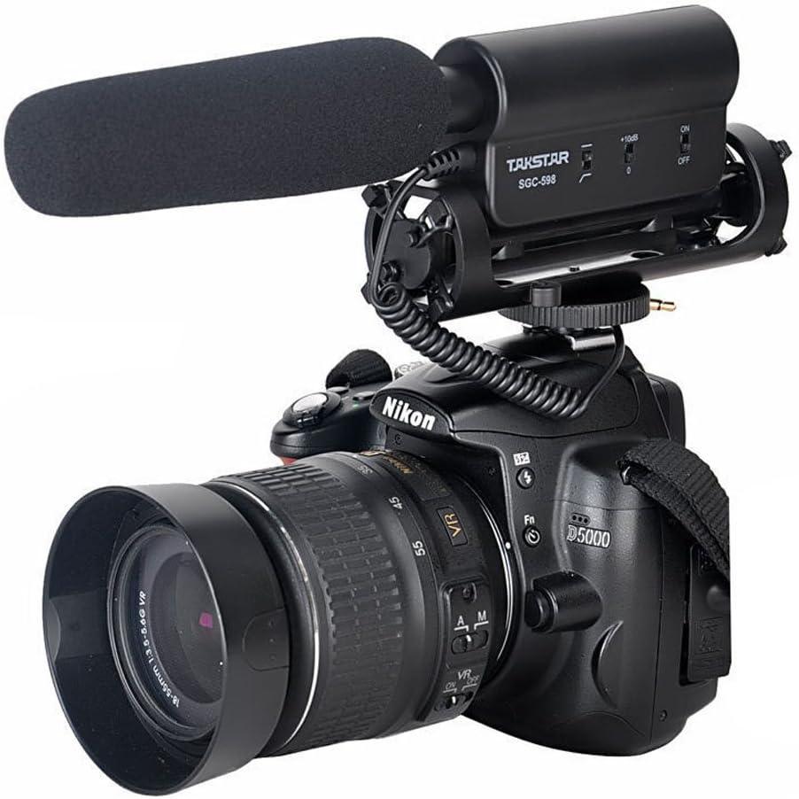 ATian-TAKSTAR la SGC-598 Fotografía Entrevista Micrófono Mic para ...