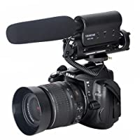 ATian TAKSTAR the SGC-598 Photography Interview MIC Microphone for Nikon Canon Camera DV Camcorder