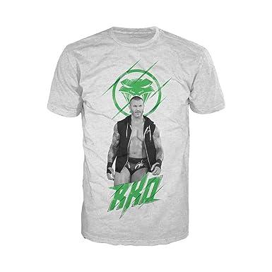 64caa50ce WWE Men's Randy Orton RKO King Snake T-Shirt: Amazon.co.uk: Clothing