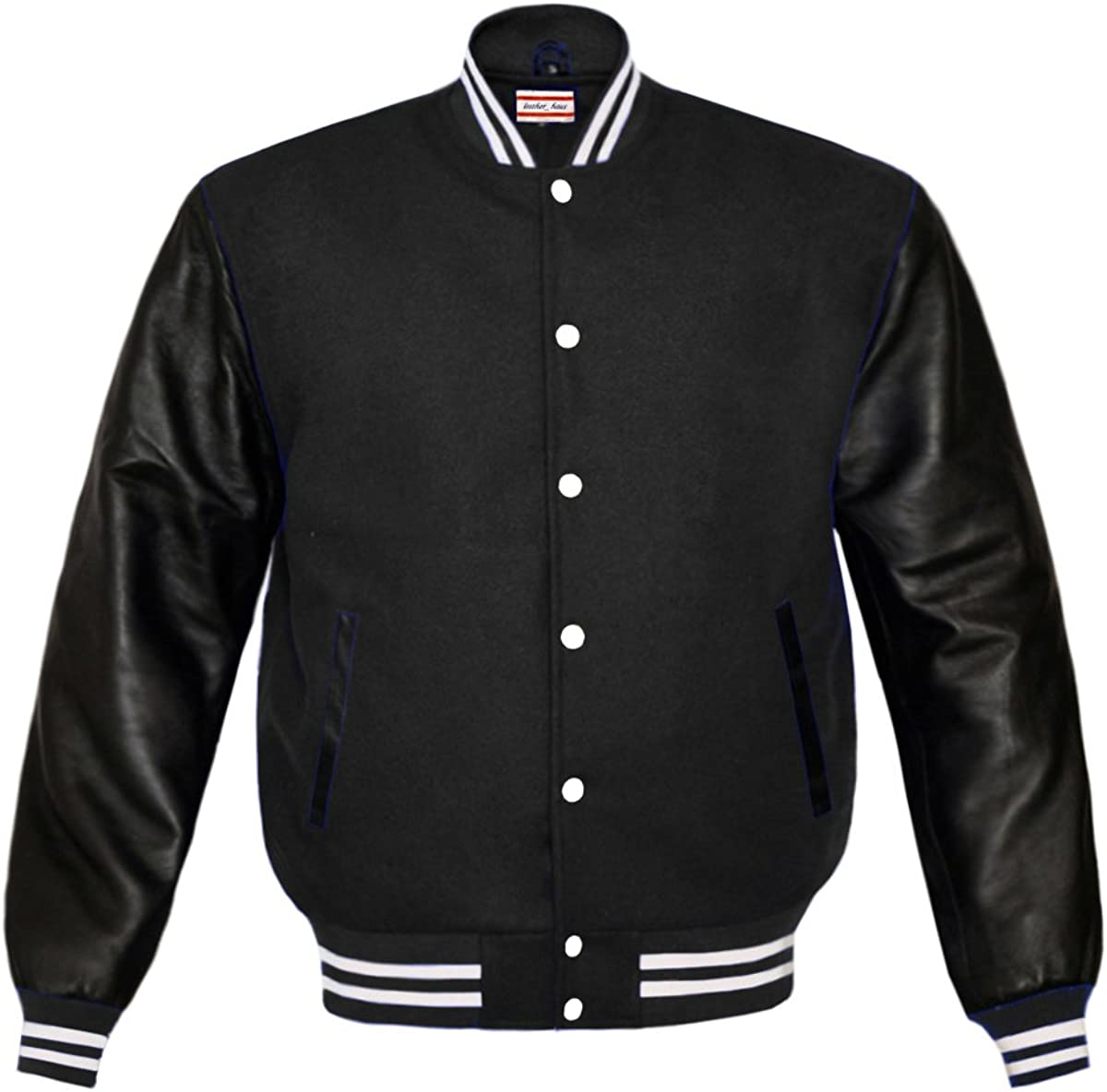 Original American Varsity Letterman College Baseball Bomber Cotton Jackets