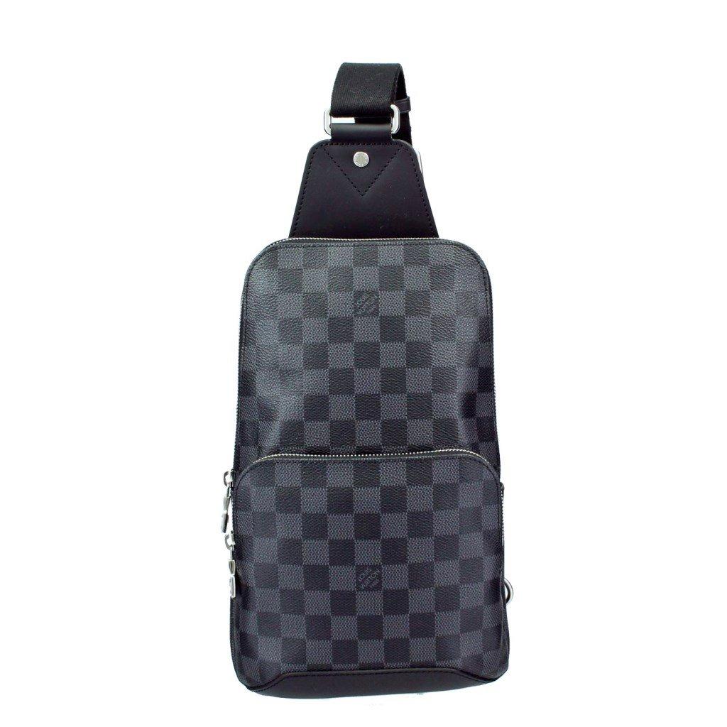ルイヴィトン バッグ N41719 ダミエグラフィット アヴェニュースリングバッグ [並行輸入品] B071GBLYGJ