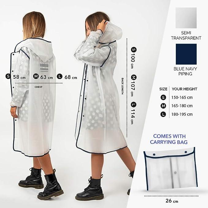 PERLETTI PERLETTI15054/AC Milan design poncho impermeabile