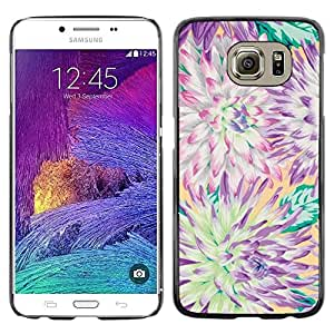 Be Good Phone Accessory // Dura Cáscara cubierta Protectora Caso Carcasa Funda de Protección para Samsung Galaxy S6 SM-G920 // Flower Chrysanthemum Summer Petal