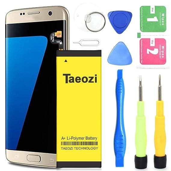 Galaxy S7 Edge Battery, Taeozi 3800mAh Li-Polymer Battery Replacement for  Samsung Galaxy S7 Edge EB-BG935ABE G935V G935P G935A G935F G935T Phone | S7