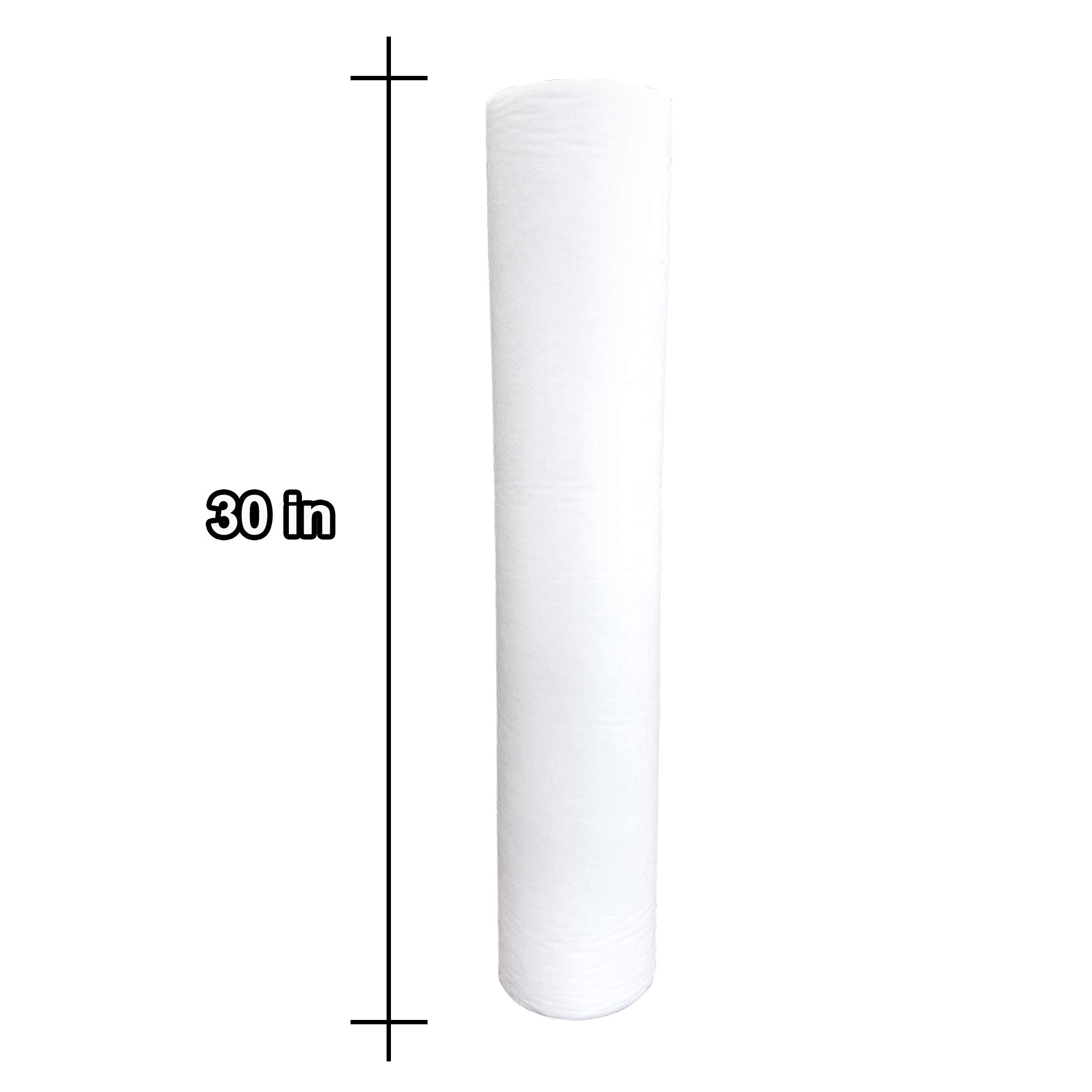 TOA Supply Disposable Non Woven Paper Exam Table Bed Cover, White, 50 Sheet by TOA Supply (Image #8)