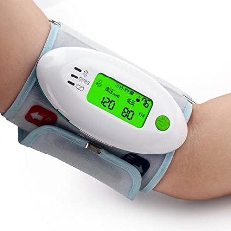 HRRH Upper Brazo Tipo automático USB electrónica Tensiómetro presupuesto Inteligente LCD Voice Corazón esfigmomanómetro Precisión Key2Life