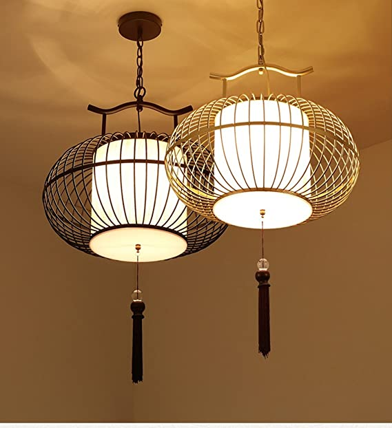 Iron Light New Bird Zhdc® Chinese Chandelier Style Hotel Cage N80vmnOw