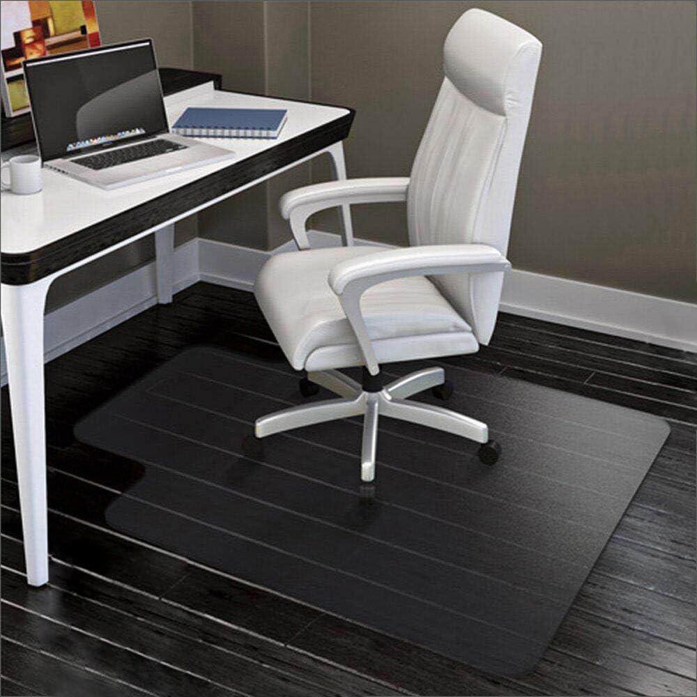 40CM-1.3mm YINN Chair Mat Scratchproof Wood Hard Floor Protection Mat,Non Slip Sturdy PVC Carpet Protector,Office Chair Mat Wheel Runner Roll Mat,Smooth-60