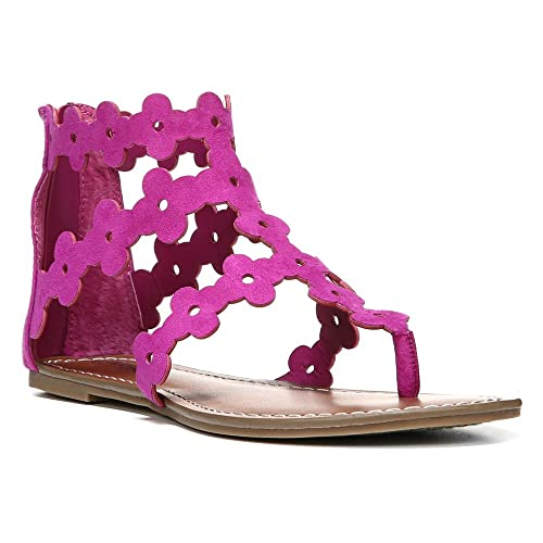 a736e390c2 Carlos by Carlos Santana Finesse Mujer US 10 Morado Sandalia Gladiador   Amazon.es  Zapatos y complementos