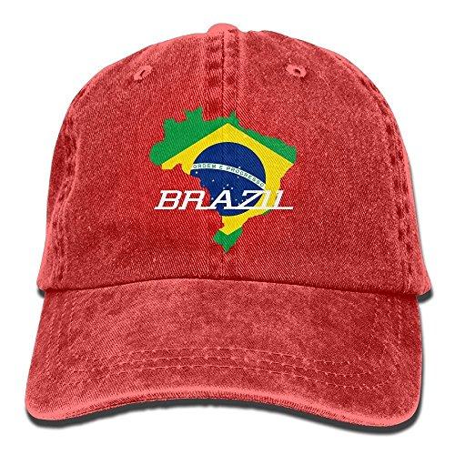 Zmacp Hombre Béisbol Gorra de para Rojo Unique Rosso Taille rpBzrqxw6