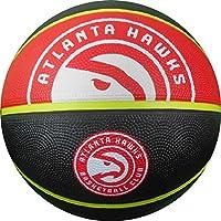 fan products of NBA Atlanta Hawks Spaldingteam Logo, Black, 29.5