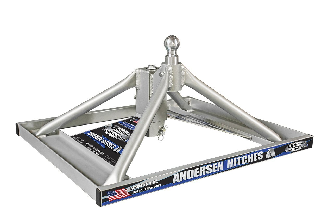 Andersen 3220 - Aluminum Ultimate 5th Wheel Connection 2 Gooseneck Mount