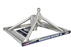 2. Andersen 3220 - Aluminum Ultimate 5th Wheel Connection 2 Gooseneck Mount