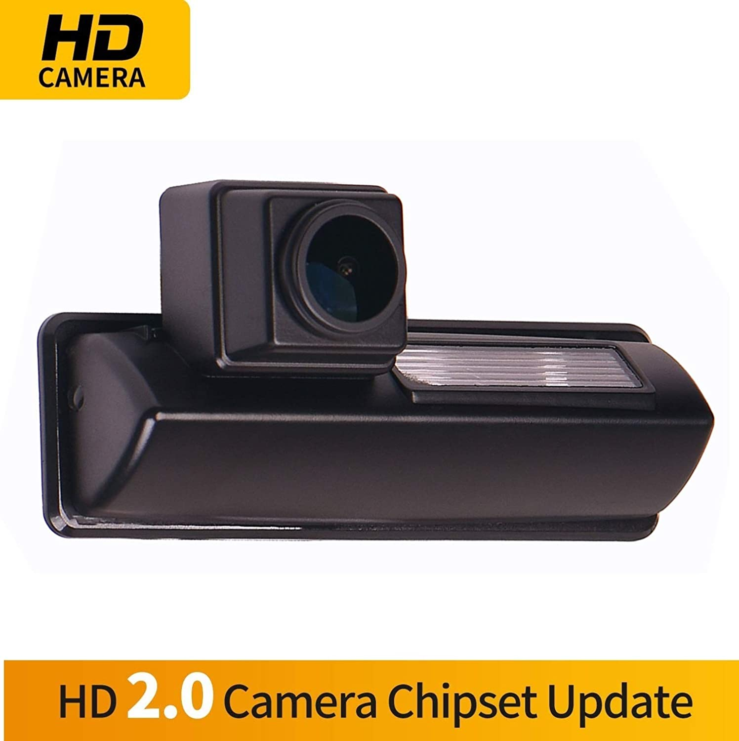 HD 1280x720p Reversing Camera Integrated in Number Plate Light License Rear View Backup Camera Waterproof Night Vision for Toyota Camry XV40 AURION //IS200//IS300 RX 300//RX330//RX350//RX400h Harrier