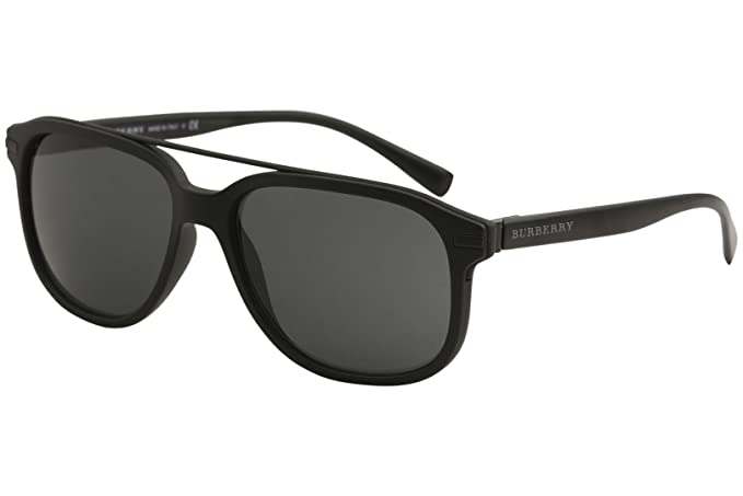 Amazon.com: Burberry be4233 de los hombres anteojos de sol ...