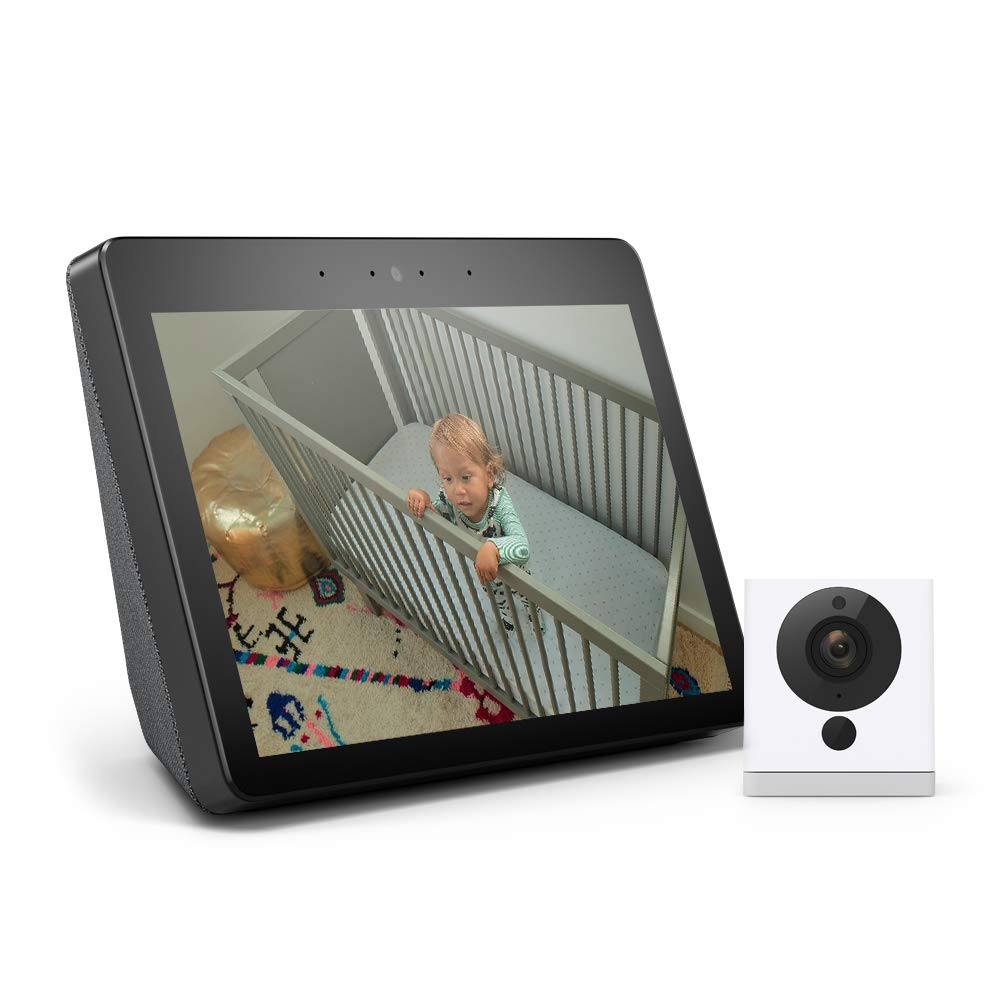 Amazon.com: All-new Echo Show (2nd Gen) Bundle with Wyze Cam ...