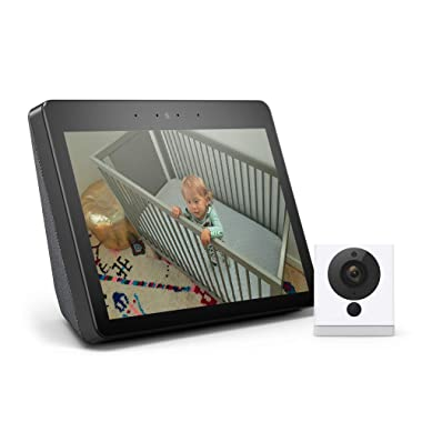 All-new Echo Show (2nd Gen) Bundle with Wyze Cam - Charcoal