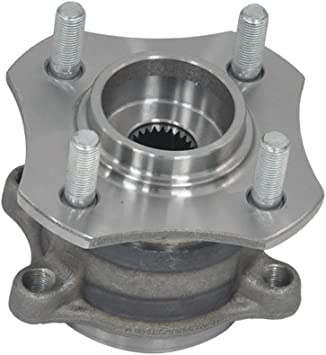 Note: FWD 4-Wheel ABS Left and Right 2008 fits Nissan Versa Rear Wheel Bearing and Hub Assembly - Two Bearings Included with Two Years Warranty