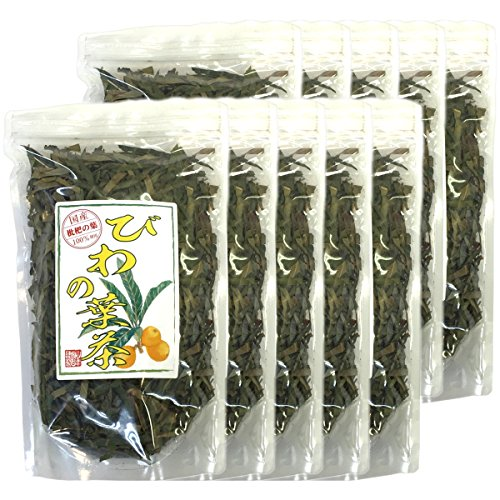 Japanese Tea Shop Yamaneen Loquat-Tea Leaf Of A Without Agricultural Chemicals Non Caffeine 100G x 10packs by Japanese Tea Shop Yamaneen