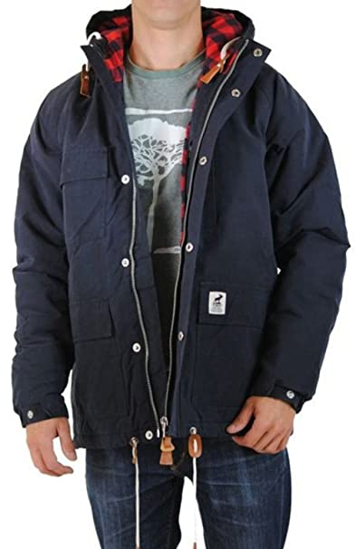 factory authentic release date: crazy price Giacca da uomo Fat muschi Scout giacca invernale - Navy ...