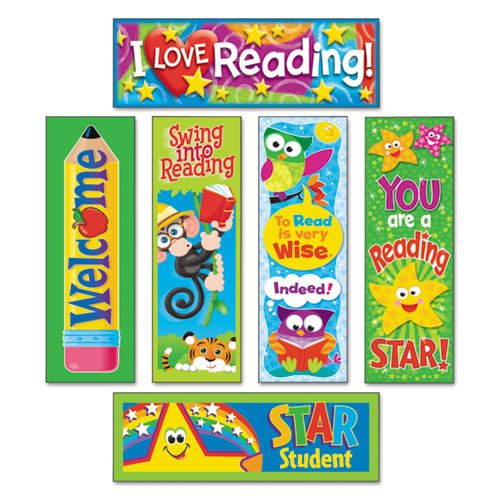 TREND - Bookmark Combo Packs, Reading Fun Variety Pack #2, 2w x 6h, 216/Pack T12907 (DMi PK