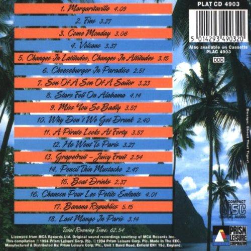 jimmy buffett all the great hits amazon com music rh amazon com jimmy buffett greatest hits full album jimmy buffett greatest hits compilations