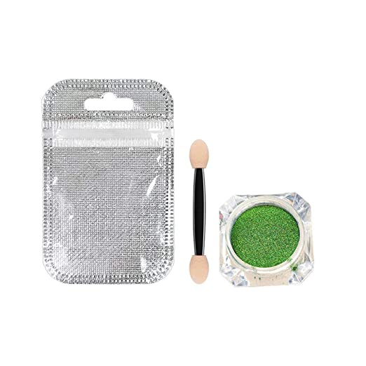 Wffo 12-Color Chameleon Waterproof Glitter Eye Shadow Two-Color Eye Shadow Polarized Eye Shadow...