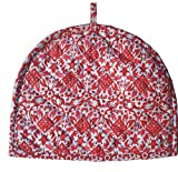 Red Tea Cosy Cotton kitchen accessories Red Color royal Tea Cozy Cover Red kettle Tea Pot cover