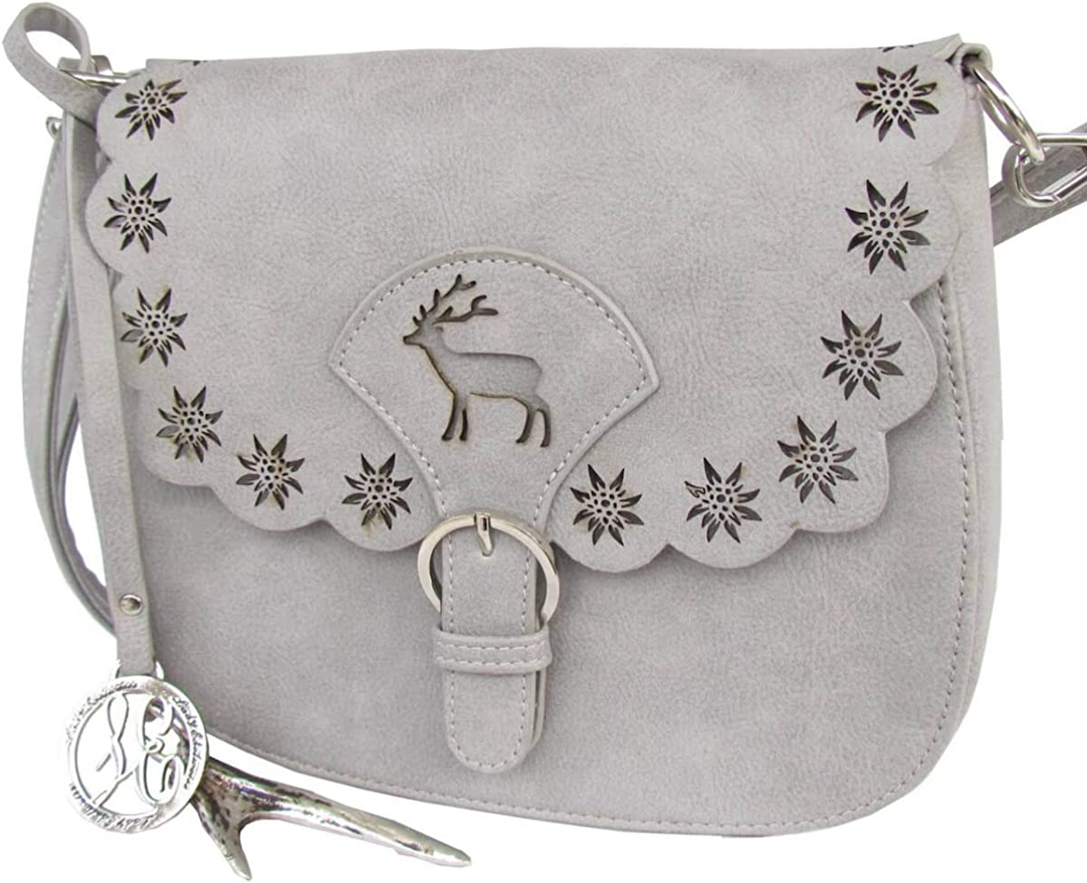 Lady Edelweiss Trachtentasche 12008 original grau