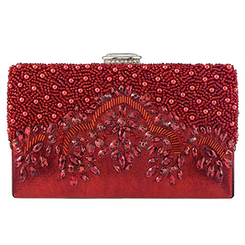pour Pochette Bagood femme Bagood pour Red Pochette femme wOqH7anxv4