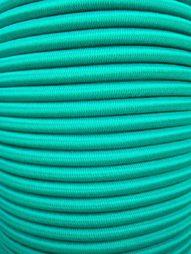 Seilwerk STANKE Gummiseil Expanderseil Gr/ün 4 mm 15 Meter Gummileine Spannseil Planenseil Gummischnur