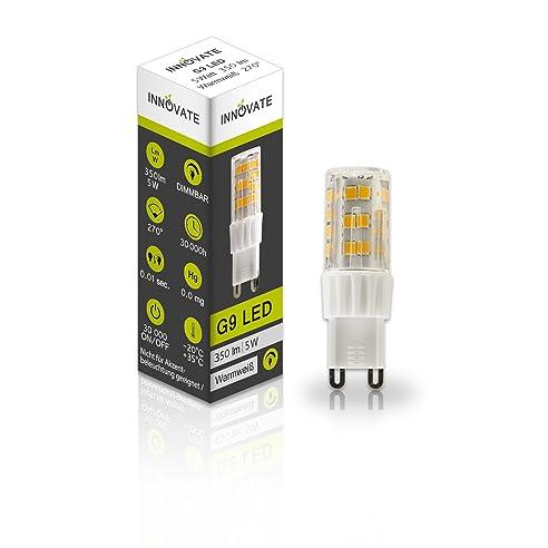 G9 LED Stecklampe Birne Leuchtmittel / 5W   Ersetzt 25W Glühlampe,  Warmweiss   2700K, Images